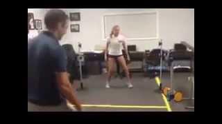 FITLIGHT Tennis game reading training