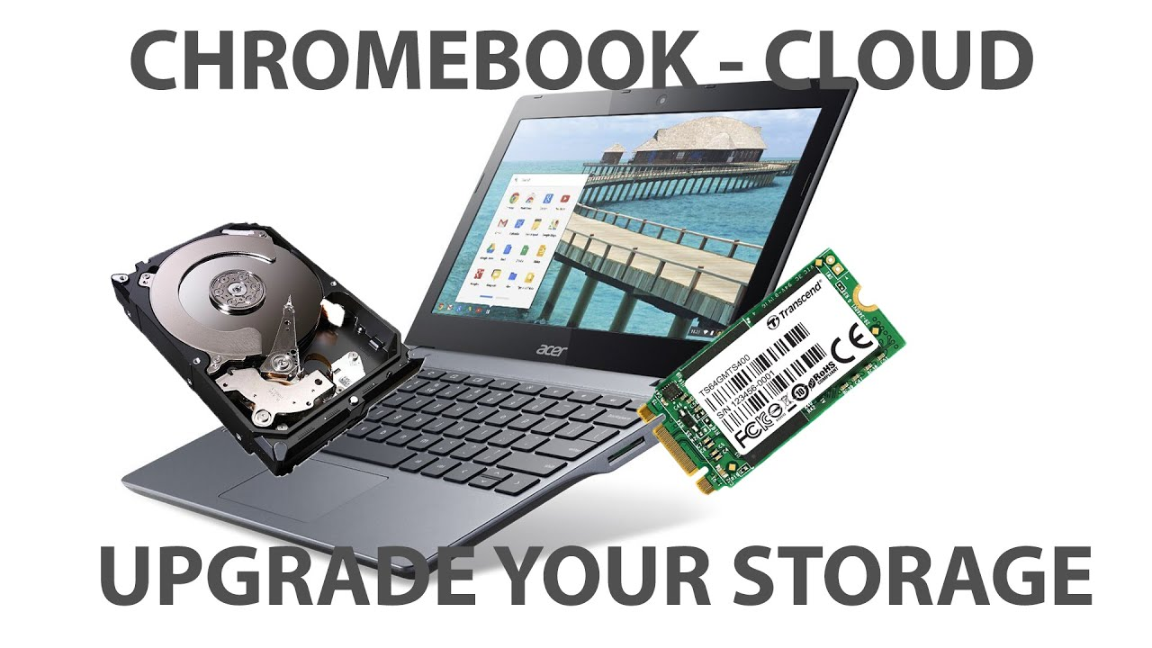 How to install an SSD upgrade in your Chromebook C720
