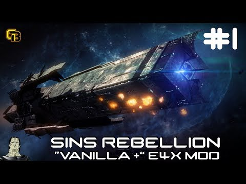 """Let's Play Enhanced 4X : """"Vanilla +"""" Sins Of A Solar Empire Rebellion. Ep 1"""