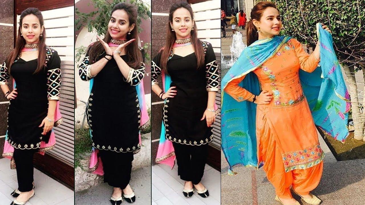 9320fae003 Sundha Sharma's suit collection   Latest Punjabi Suits   Punjabi Suit  Designs 2017