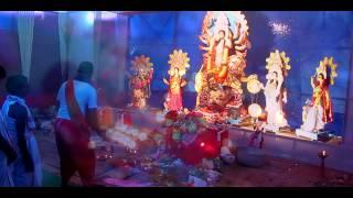 Durga Puja MahaAshtami Aarti with Dhak Sound