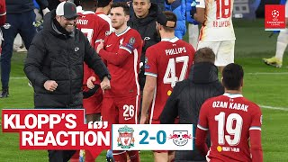 Klopp's Reaction: Fabinho, Phillips & Champions League aims | Liverpool vs RB Leipzig