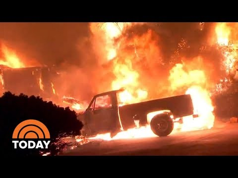 California Wildfires Continue, Survivors Describe Deadly Conditions | TODAY