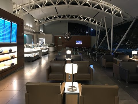 American Airlines Flagship Lounge LAX - With A SECRET ROOM