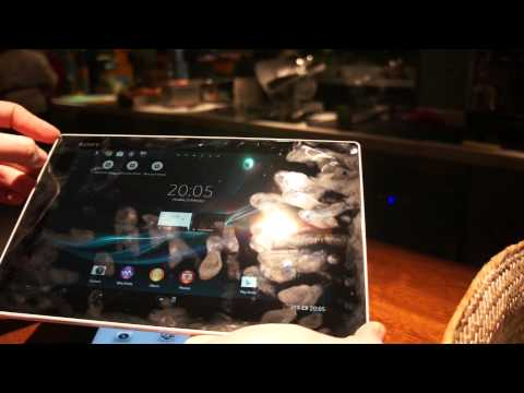 Sony Xperia Tablet Z vs. Apple iPad comparison hands-on