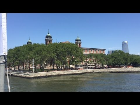 Ellis Island Ferry Ride Back To Battery Park In Manhattan