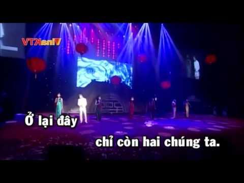 karaoke HD khóc cho người đi đàm vĩnh hưng