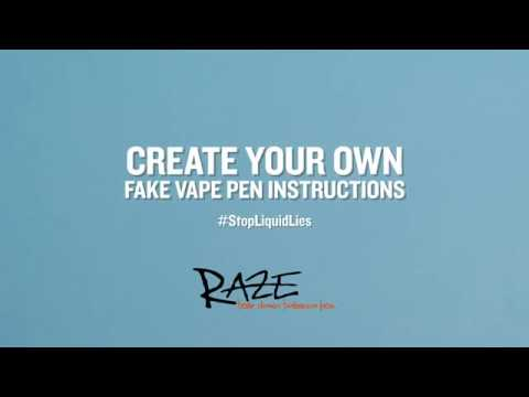 How To Create a Fake Vape Pen for Pitch the Pen