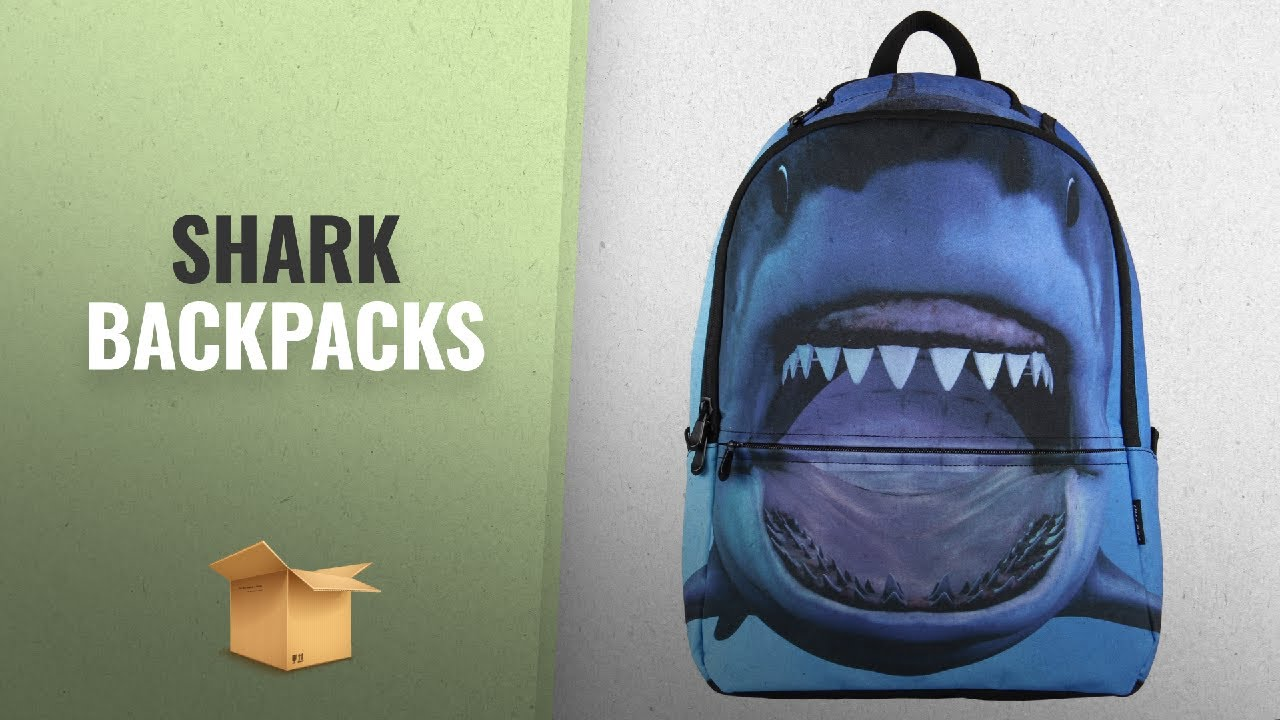 3a44858d82e4 10 Great Shark Backpacks For School Ideas  Hynes Eagle Printed Kids ...