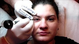 Tatuaj ochi  Galerie cu peste 2000 video in www machiajtatuaj ro Zarescu Dan 0745001236 $UZ M5181