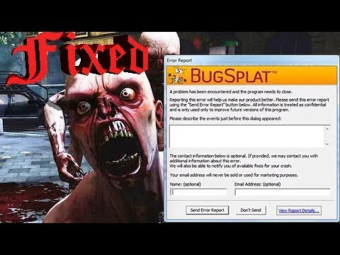 Killing Floor 2 Bugsplat Fixed Youtube