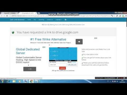 Cara download file via Google Drive