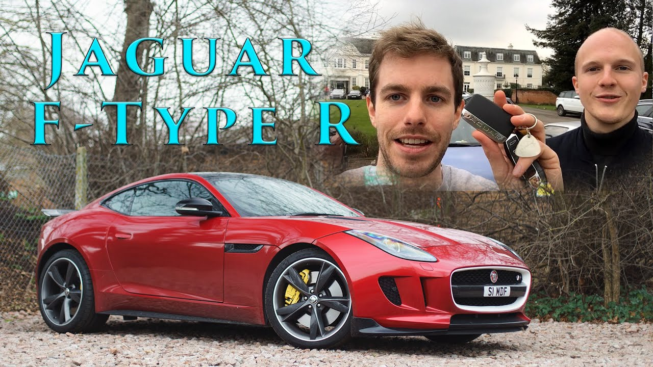 I Stole Seen Through Glass's Jaguar F-Type R And It ...