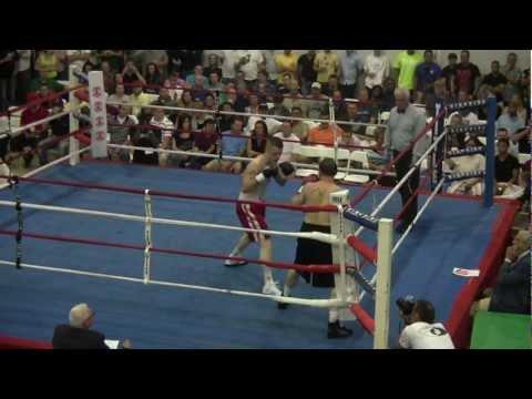 "Michael Mclaughlin Owen vs Noel Garcia at ""The Mayhem in Dorchester"""
