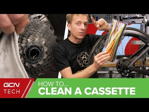 How To Get A Perfectly Clean Cassette - GCN Tech's Top Tips For Cleaning Your Drivetrain