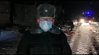 Четыре человека погибли в ДТП на трассе в ВКО| Видео Nur.kz