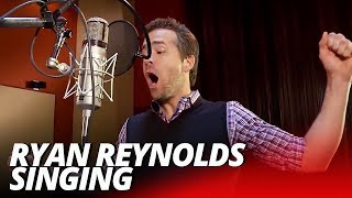 Ryan Reynolds Deadpool Singing