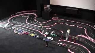 Carrera Digital 124 - 40m Bahn im Dark Side HomeCinema