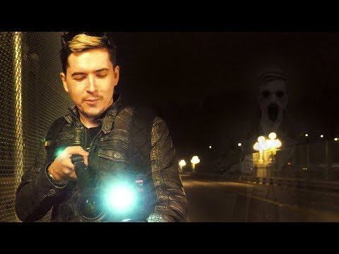 HUNTING GHOSTS ON A HAUNTED BRIDGE