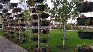 Чудо Грозного - цветочный парк, сентябрь 2019 | туризм в Чечне