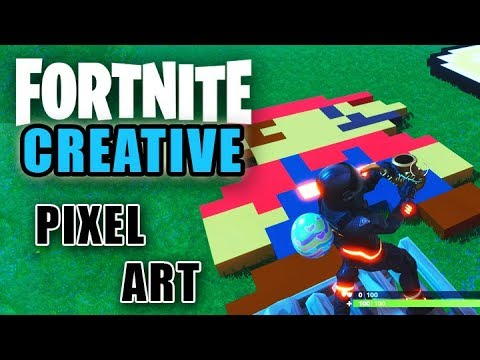 How To Pixel Art In Fortnite