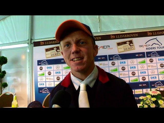 Matthew Sampson - Derbysieger mit anderem Pferd?