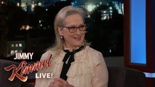 Meryl Streep's Son Gave Her Marijuana Cream