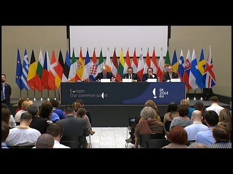 Informal ECOFIN, Athens 1.4.2014, Press Conference