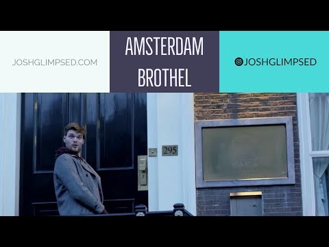 I visit Amsterdam's Hollywood Brothel // Red Light District