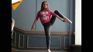 Russia: Young Ballet Dancer Shows Off Jaw-Dropping Skills