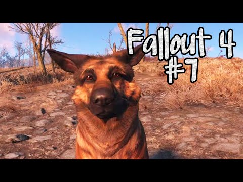 Fallout 4:DOGMEAT SMELLS TROUBLE! Part 7 (Nooch Let's Play)
