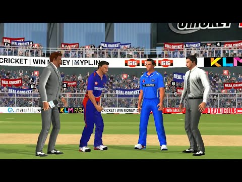 2nd May IPL 11 Delhi Daredevils Vs Rajasthan Royals Real cricket 2018 mobile Gameplay - 동영상