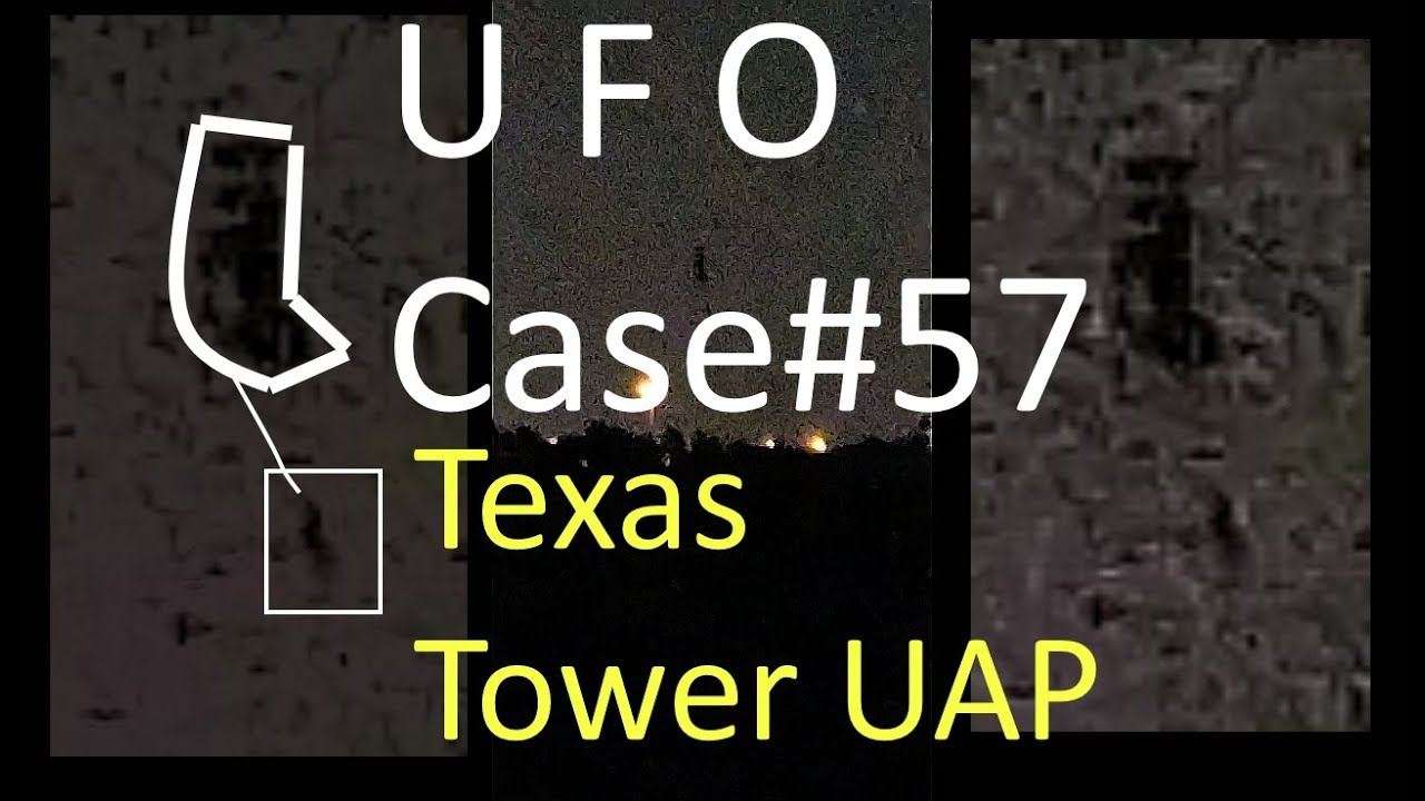 Texas Tower UFO MUFON#91666 Analyzed - The Out There Channel UFO Case#57 (04May2018)