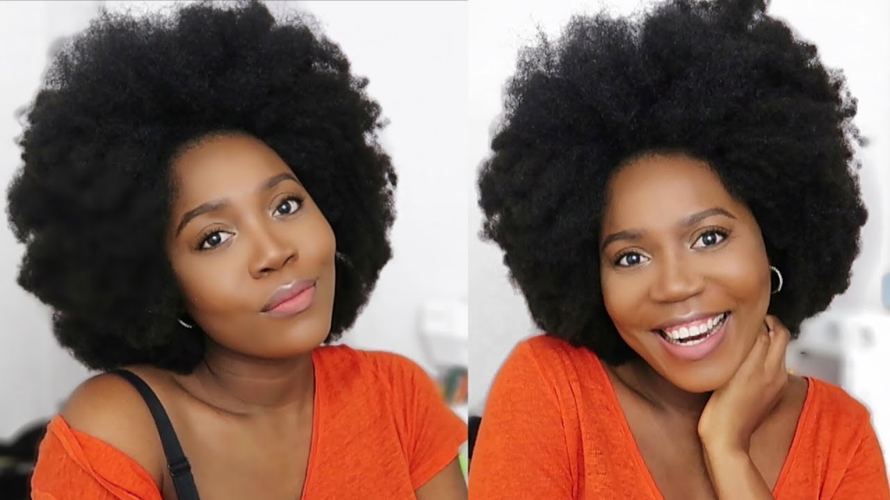 Most Natural Looking 4c Curly Clip Ins Ever I Protective Hair Style