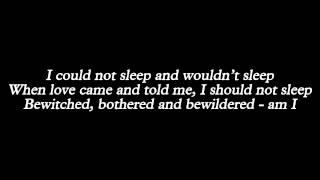 Lady Gaga - Bewitched, Bothered & Bewildered (Lyrics)
