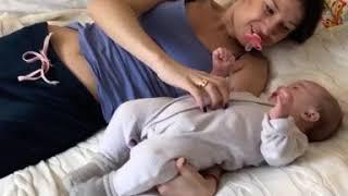 Когда дети болеют мама готова на все🙏🏻