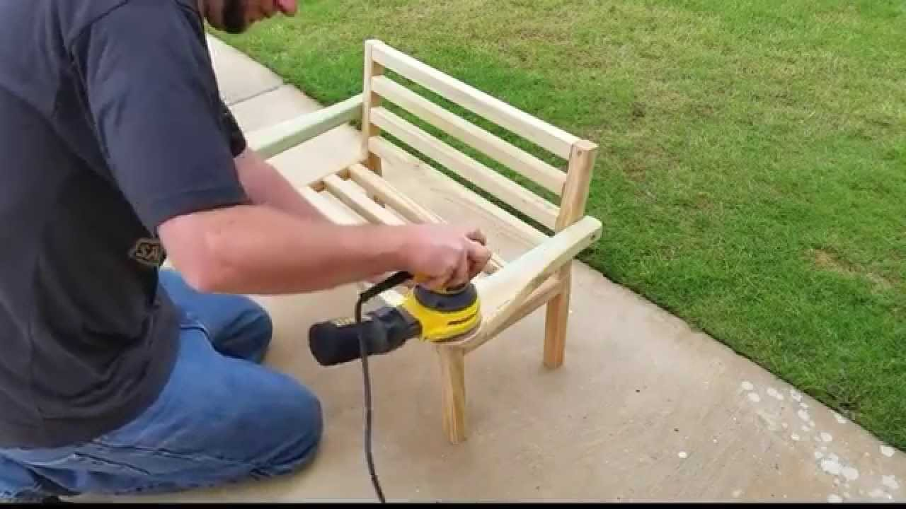 How To Build A Porch Bench For Kids Youtube