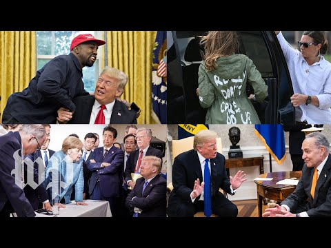 The most bizarre political moments of 2018