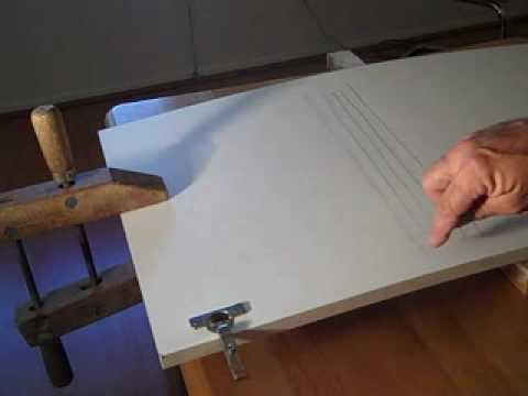 Fix a Warped Cabinet Door YouTube