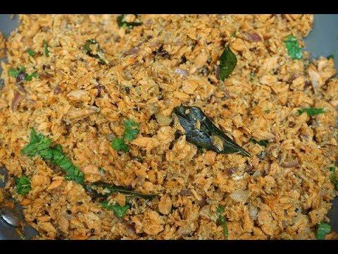 Salmon Fish Puttu In Tamil