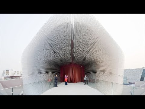 Video image: Building the Seed Cathedral - Thomas Heatherwick