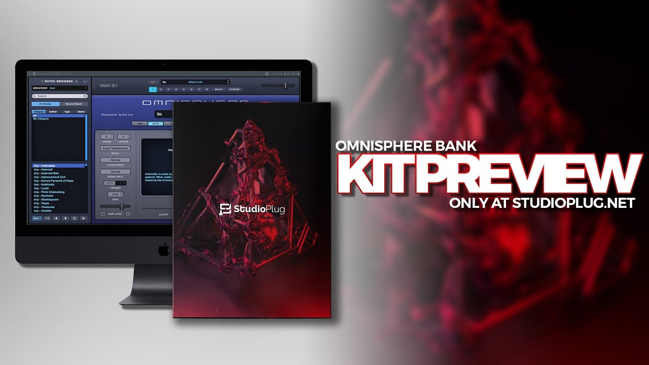 Best Omnisphere Preset Bank 2019 | Ambience Omni Bank Kit Preview