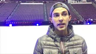 Adam Rippon with Stars on Ice in Hershey talks about 'Dancing with the Stars,' Pence and his family