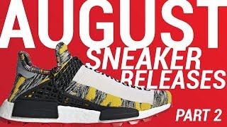 AUGUST SNEAKER RELEASES: SIT OR SELL (PART 2)