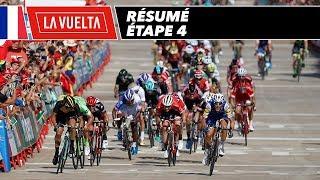 Résumé - Étape 4 - La Vuelta 2017