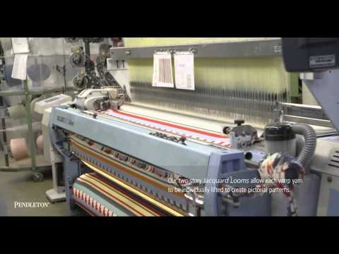 Pendleton Woolen Mill Tour - From Fleece to Fabric