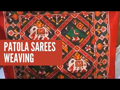 Patola Silk Saree weaving
