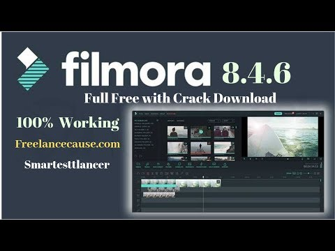 Filmora Pro 8.4.6 Full Version With Crack License Key + Installation and User Guide. (100% Working)