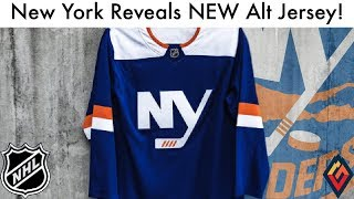 New York Islanders Reveal NEW 3rd Jersey! - NHL Jersey Review
