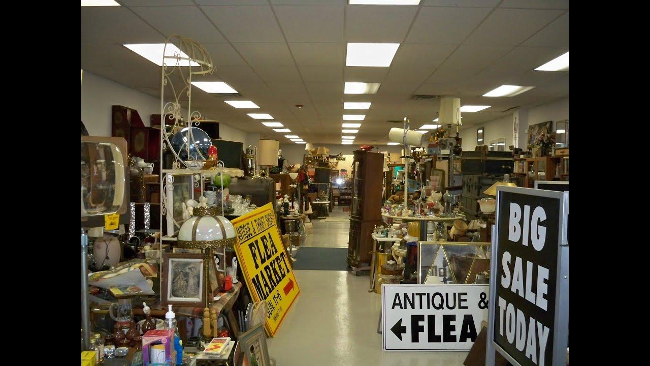 The Antique Thrift Shop Super Store Flea Market Youtube